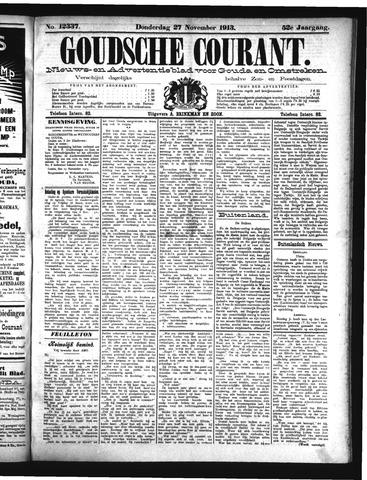 Goudsche Courant 1913-11-27