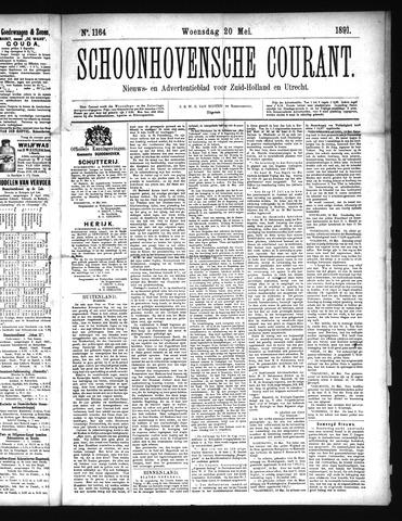 Schoonhovensche Courant 1891-05-20