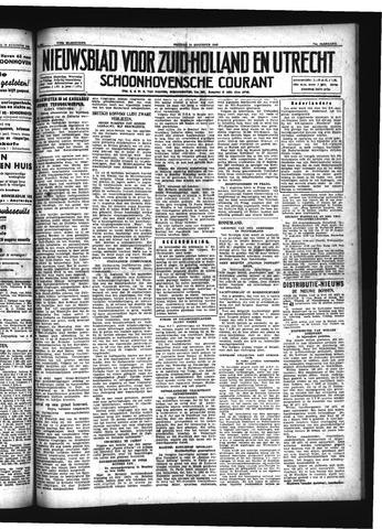 Schoonhovensche Courant 1942-08-14