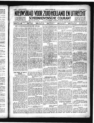Schoonhovensche Courant 1939-01-27