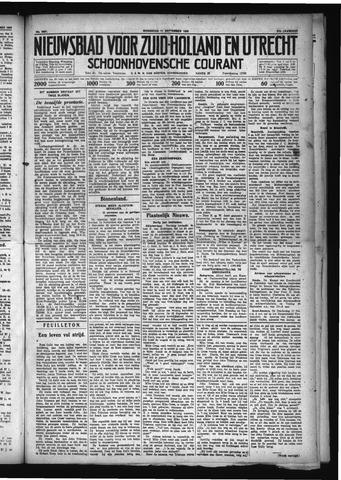 Schoonhovensche Courant 1929-09-11
