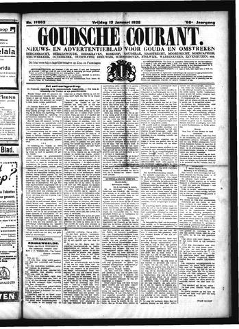 Goudsche Courant 1928-01-13
