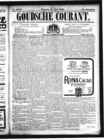 Goudsche Courant 1912-04-22