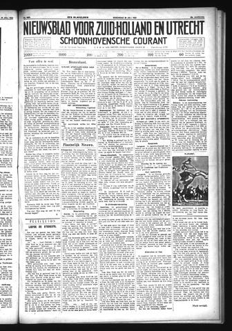 Schoonhovensche Courant 1933-07-26
