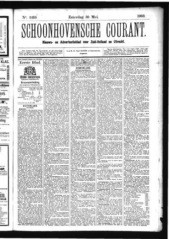 Schoonhovensche Courant 1903-05-30