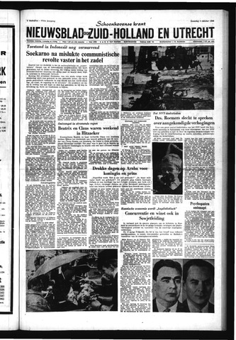 Schoonhovensche Courant 1965-10-04