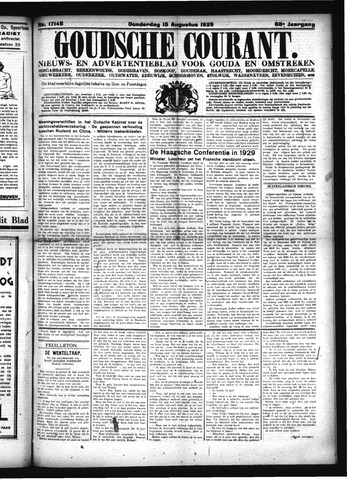 Goudsche Courant 1929-08-15