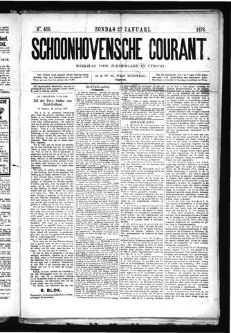 Schoonhovensche Courant 1878-01-27