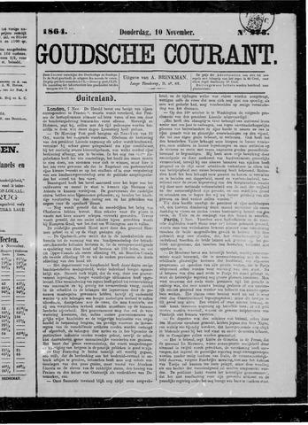 Goudsche Courant 1864-11-10