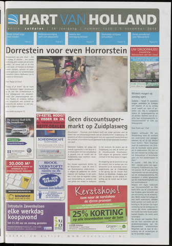 Hart van Holland - Editie Zuidplas 2014-11-05