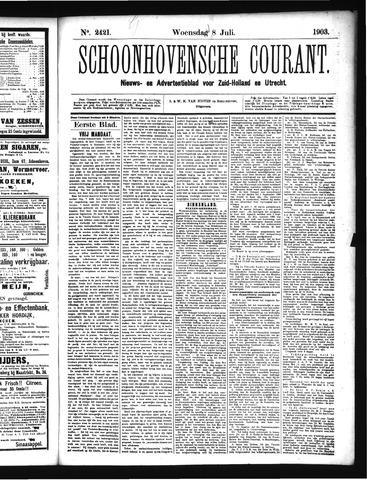 Schoonhovensche Courant 1903-07-08