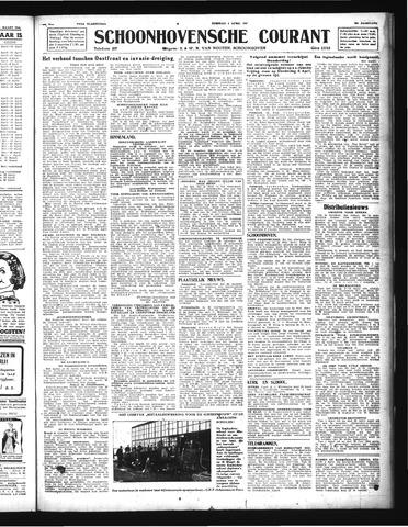 Schoonhovensche Courant 1944-04-04