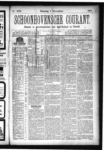 Schoonhovensche Courant 1915-12-07