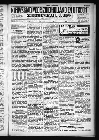 Schoonhovensche Courant 1931-08-07