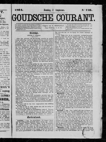 Goudsche Courant 1864-08-07