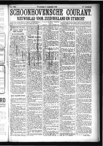 Schoonhovensche Courant 1925-08-05
