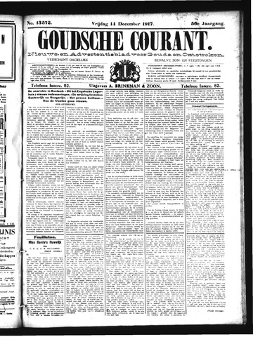 Goudsche Courant 1917-12-14