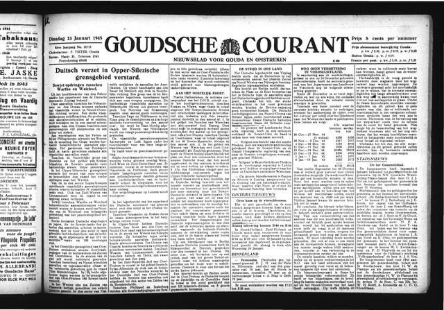 Goudsche Courant 1945-01-23