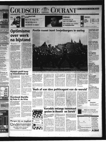 Goudsche Courant 2005-05-09