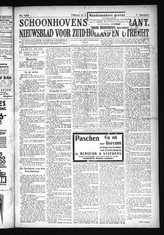 Schoonhovensche Courant 1927-04-15