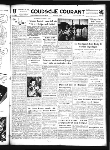 Goudsche Courant 1952-05-08