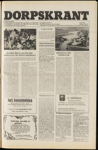 Dorpskrant 1981-07-03