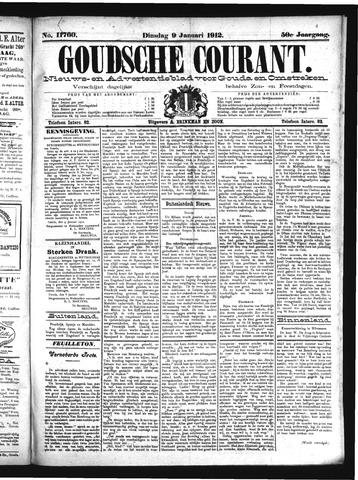 Goudsche Courant 1912-01-09