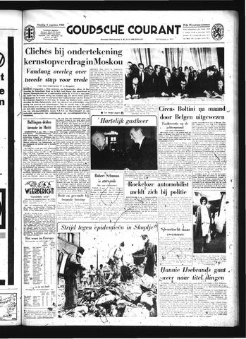 Goudsche Courant 1963-08-06