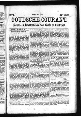 Goudsche Courant 1874-04-12