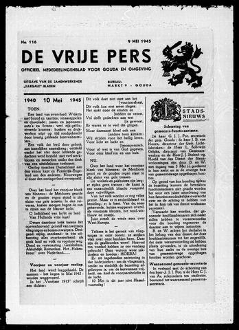 De Vrije Pers 1945-05-09