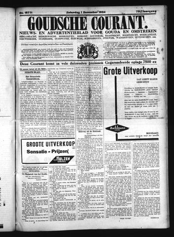 Goudsche Courant 1934-12-01