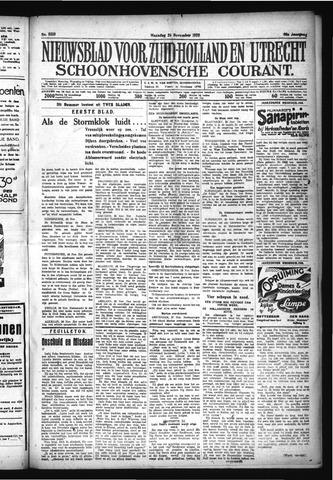 Schoonhovensche Courant 1928-11-26