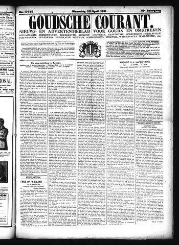 Goudsche Courant 1931-04-20