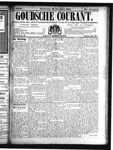 Goudsche Courant 1914-11-26
