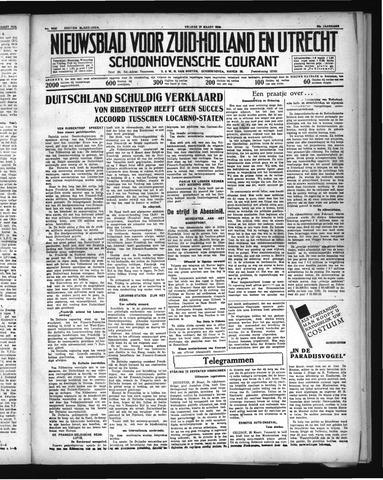 Schoonhovensche Courant 1936-03-20