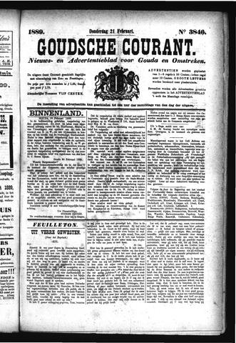 Goudsche Courant 1889-02-21