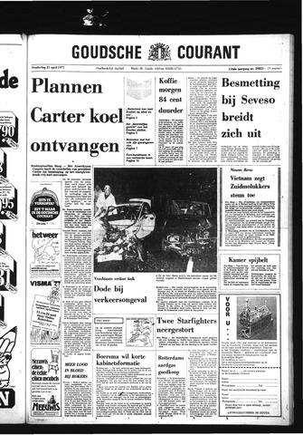 Goudsche Courant 1977-04-21
