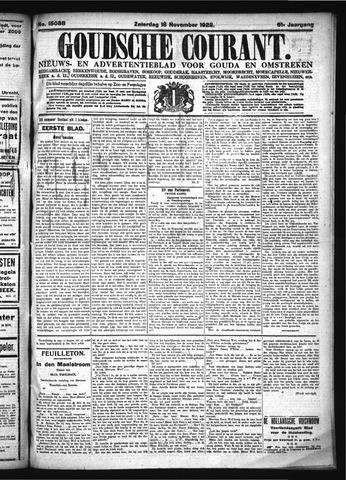 Goudsche Courant 1922-11-18