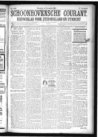 Schoonhovensche Courant 1925-11-16