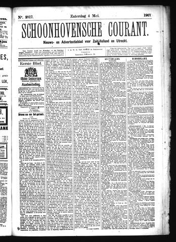 Schoonhovensche Courant 1907-05-04