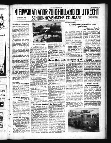 Schoonhovensche Courant 1950-09-15