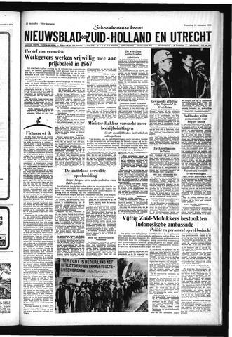 Schoonhovensche Courant 1966-12-28
