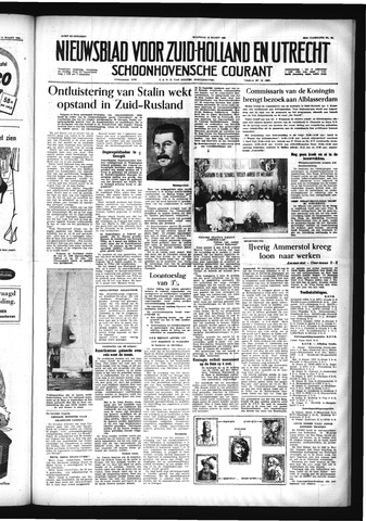 Schoonhovensche Courant 1956-03-19