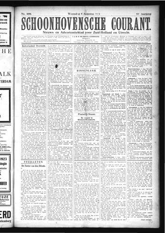 Schoonhovensche Courant 1923-08-08