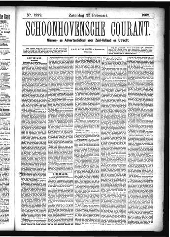 Schoonhovensche Courant 1902-02-22
