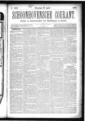 Schoonhovensche Courant 1917-04-10