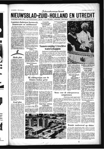 Schoonhovensche Courant 1967-09-13