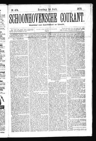 Schoonhovensche Courant 1878-07-14