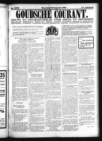 Goudsche Courant 1935-08-14
