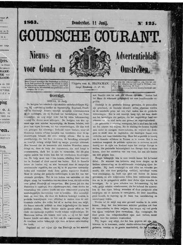 Goudsche Courant 1863-06-11